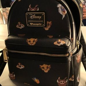 Disney loungefly mini bagpack